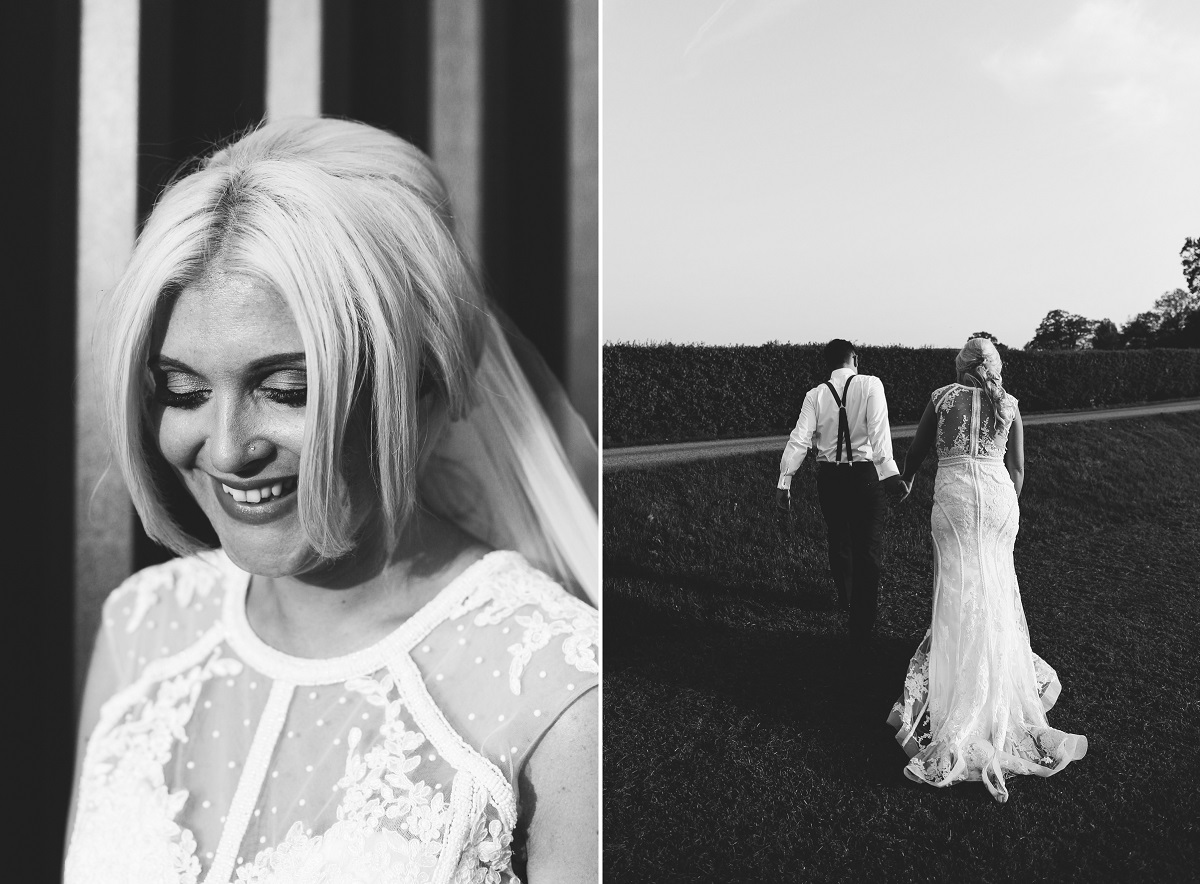 Sandhole Oak Barn Wedding Portraits