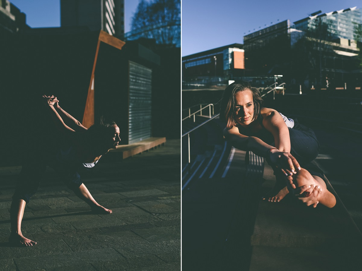 Yoga Portrait Photography