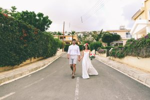 Peyia Wedding Portraits