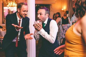 Funny Wedding Dancefloor Photograph
