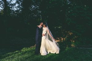 Sunset wedding Portraits Ashfield House