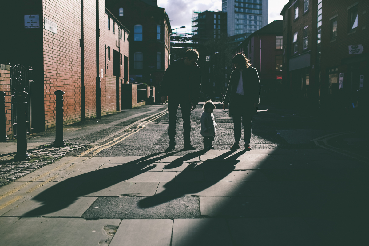 Manchester Northern Quarter Family Portrait