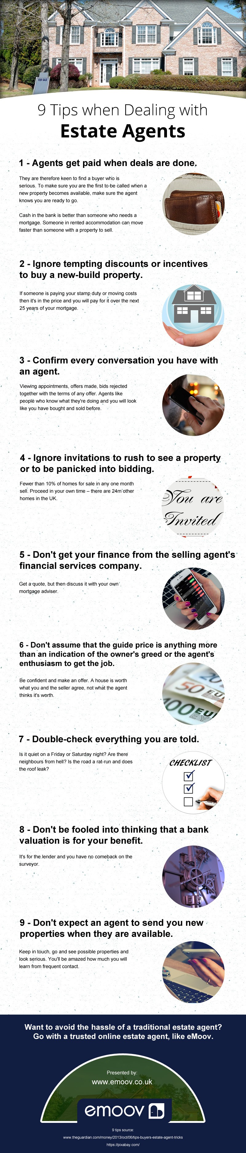 9 Tips When Dealing With Estate Agents
