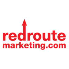 Redroute marketing logo growth
