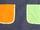 Bolsillos naranja y verde