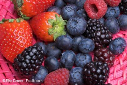 Arandanos, moras y fresas
