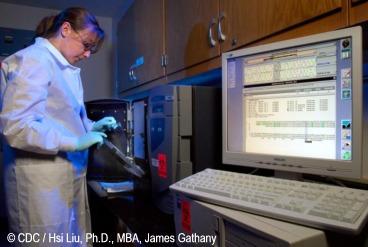Biomedicina: Máquina de secuenciación del génoma