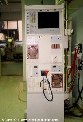 Maquina de hemodialisis