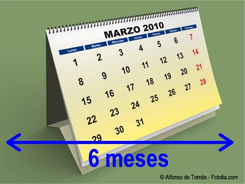 Calendario, periodo ventana