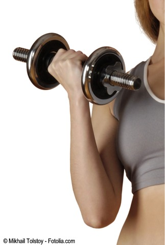 Ejercicio de fuerza para prevenir la osteoporosis