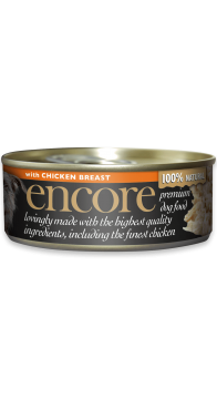 23001E-E EncDog156g Tin CGi Chicken