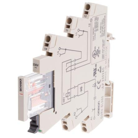 G2RV-SL500-AP AC230 | Omron | Omron SPDT Non-Latching Relay ... on