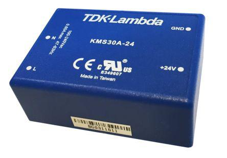 KMS-30A-5                                              TDK-Lambda 30W Embedded Switch Mode Power Supply SMPS, 5A, 5V dc