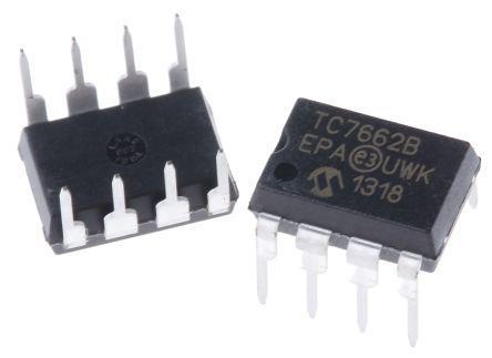 PDIP8 HI Volt Microchip-tc7662bepa-Convertitore DC-DC