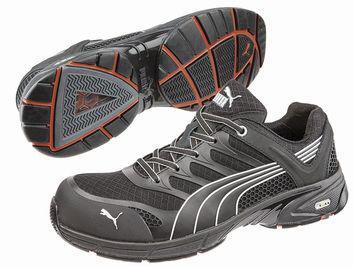 924adafe1b9 Puma Safety Black Leather Shoe UK 12