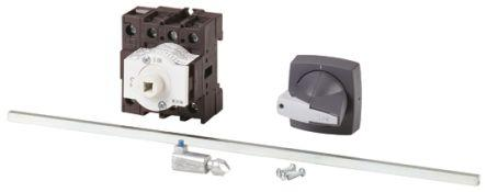 172774 | P1-25/M4/K1-PG/N                                              Eaton 3 + N Pole Panel Mount Non Fused Isolator Switch - 25 A Maximum Current, 11 kW Power Rating, IP65