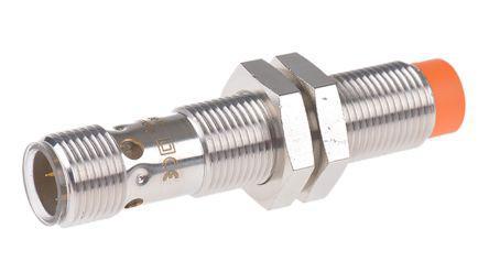 ifm electronic PNP Inductive Sensor 7 mm Detection Range, Barrel 60mm length, 10 → 36 V dc, IP68