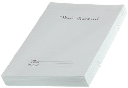 241-8093                                              RS Pro Cleanroom Notebook 210mm, X 297 mm