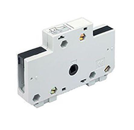 39990001                                              Socomec Auxiliary Contact, For Use With Fuse Combination Switches