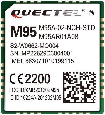 M95FA-TEA-03-STD                                              Quectel GSM & GPRS Module M95FA-TEA-03-STD