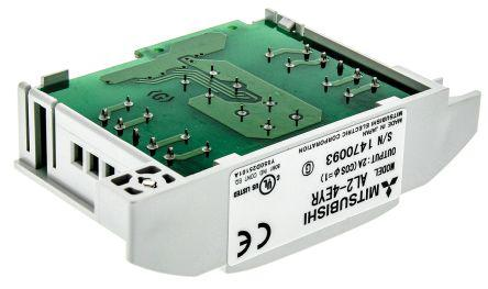 Mitsubishi Alpha 2 Expansion Module, 230 V ac, 4 x Output Without Display