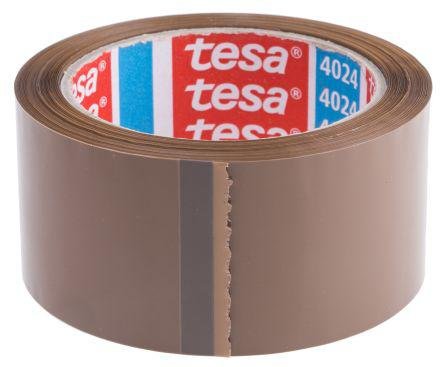 Tesa 4313 Brown Single Sided Packaging Tape 50m x 50mm