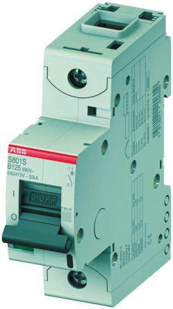 2CCS861001R0631                                              High Performance S800 MCB Mini Circuit Breaker 1P, 63 A, 50 kA, Curve D