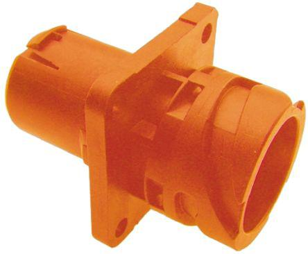 121583-0216/APD-69AP-HV                                              ITT Cannon APD Series Female Panel Mount Connector, 4 contacts Socket