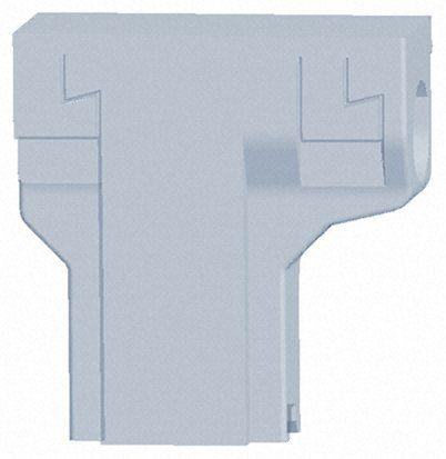 TE Connectivity FASTON .250 Series, Nylon 66 Crimp Cover, Natural