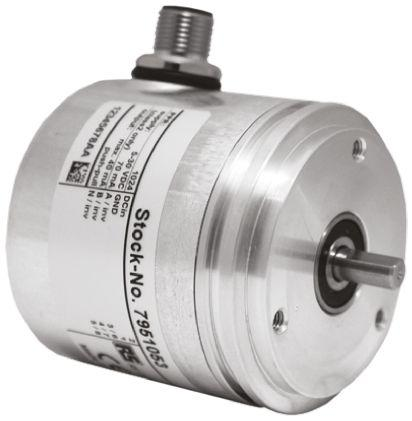 795-1028                                              RS Pro Incremental Encoder 1024 ppr 10000rpm Flatted 5 → 30 V dc