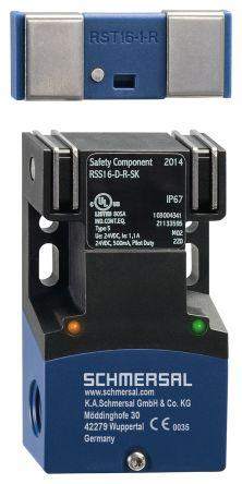 RSS16-D-R-SK                                              RSS 16 RFID Safety Switch, Coded Actuator, Glass Fibre Reinforced Thermoplastic, Plastic, 20.4 → 26.4 V dc