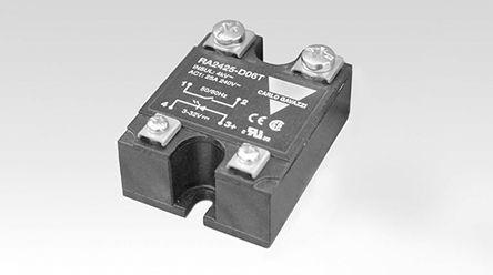 RA4425-D08                                              Carlo Gavazzi 25 A Solid State Relay, Zero, Panel Mount Varistor, 480 V ac Maximum Load