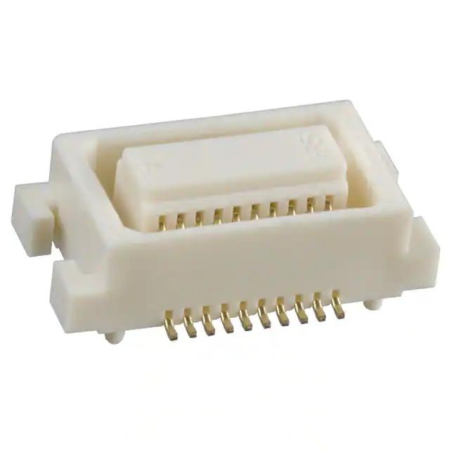 -20DS-0.5V 57 DF17 0.5 mm DF17 Series 20 3.0 Receptacle Surface Mount Gold Plated Contacts RoHS Compliant: Yes, Pack of 20 - Board-To-Board Connector