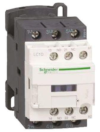 LC1D186FD                                              Tesys D LC1D 3 Pole Contactor, 32 A, 10 kW, 110 V dc Coil