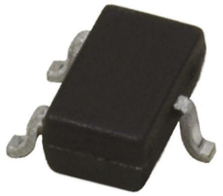 ROHM 2SD2444KT146R NPN Bipolar Transistor, 1 A, 15 V, 3-Pin SMT