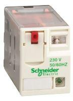 Schneider Electric 4PDT Plug In Non-Latching Relay, 230V ac Coil, 8 A