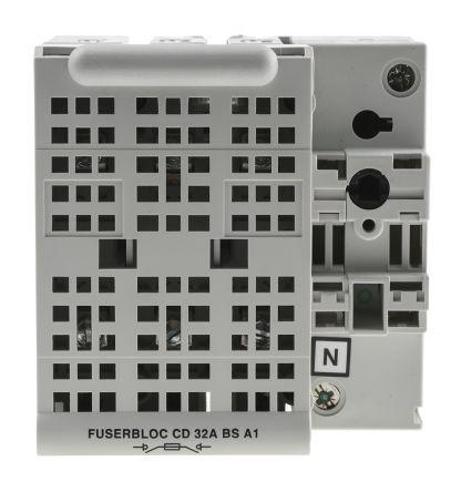 32 A 3P Fused Isolator Switch, A1 Fuse Size