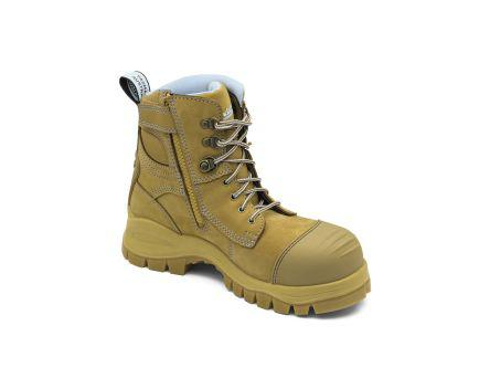 892060                                              Blundstone 892 Wheat Steel Toe Cap Women Safety Boot, UK 6, EU 39, US 8
