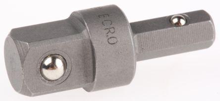 ECR.0                                              Facom 1/4 in Square Drive Socket Adapter, 22 mm Length