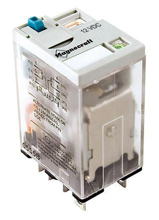 1 x Schneider Electric DPDT Plug In Non-Latching Relay 230V ac Coil 10A