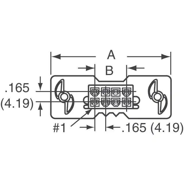 Plug Connector Housing 4.2 mm 15-06-0046 4 Positions Mini-Fit BMI 42475 Series MOLEX