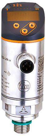PN2599                                              ifm electronic Relative Pressure Sensor, IO-Link, 1000mbar Max Pressure Reading , 18 → 30 V dc, G1/4, IP65, IP67