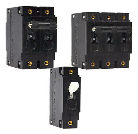 AG2-B0-26-615-111-D                                              Carling Technologies 15A 2 Pole Thermal Magnetic Circuit Breaker, 80 V dc, 277 V ac A
