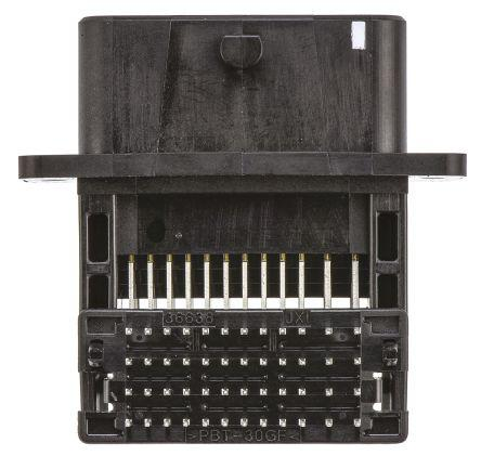 Molex CMC Series, 36638 Series Number, 4 Row 48 Way Through Hole Plug Header