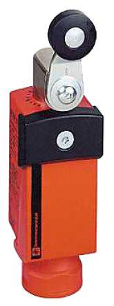 XCSP3918P20                                              Preventa XCSP Limit Switch with Rotary Lever Actuator, Plastic, 2NC/NO