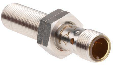 ifm electronic Capacitive sensor 1 → 6 mm length 61.2mm NO, PNP supply voltage 10 → 36 V dc IP65