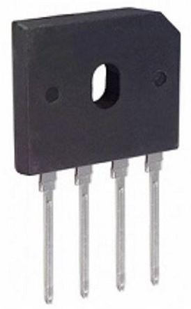 HY Electronic Corp KBPC1506 Bridge Rectifier 15A 600V 4-Pin KBPC