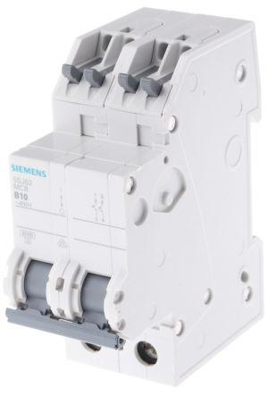 D=70MM Siemens 5SY6110-6 Circuit Breaker 230//400V 6KA B 10A 1-POLE