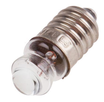 E10 Indicator Light, Clear, 6.5 V, 300