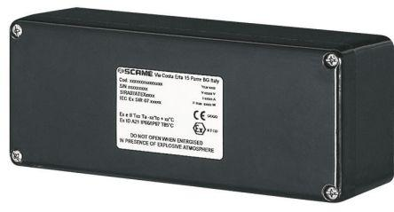 644 0230-RS01 | Scame | GRP IP66 Junction Box, 14 Terminal